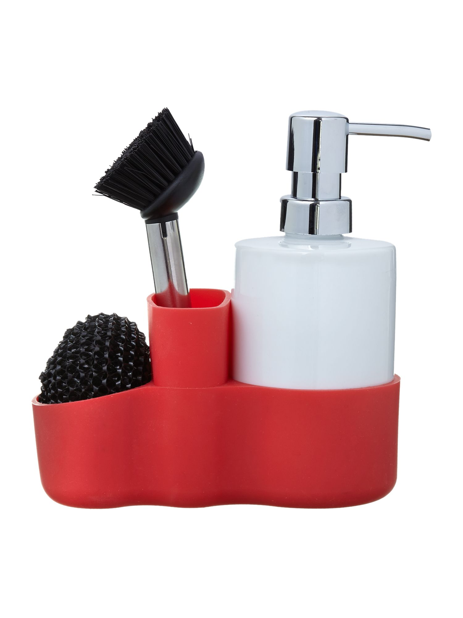 Cleaning set, red