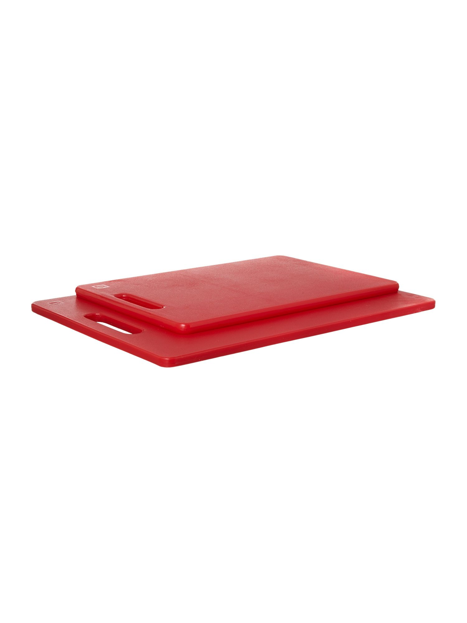 Chopping board set, red