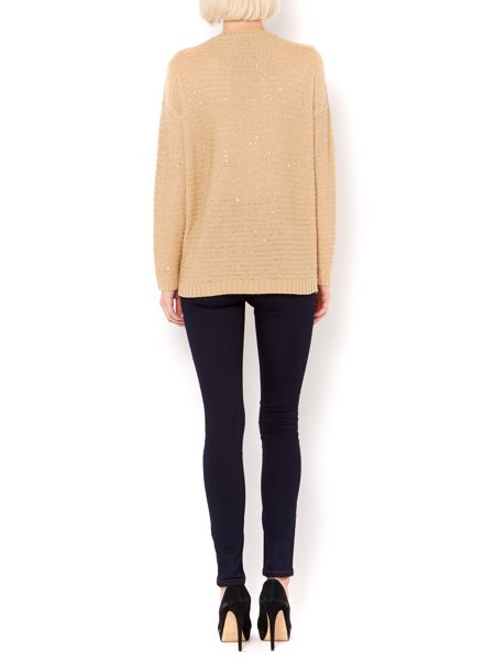 Therapy Sequin knit jumper