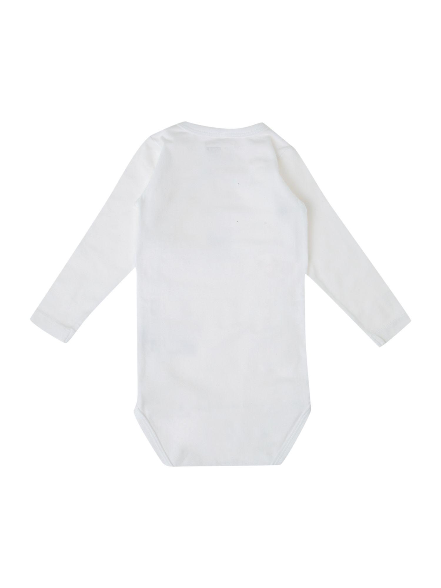 Baby`s long-sleeved bodysuit with graphics