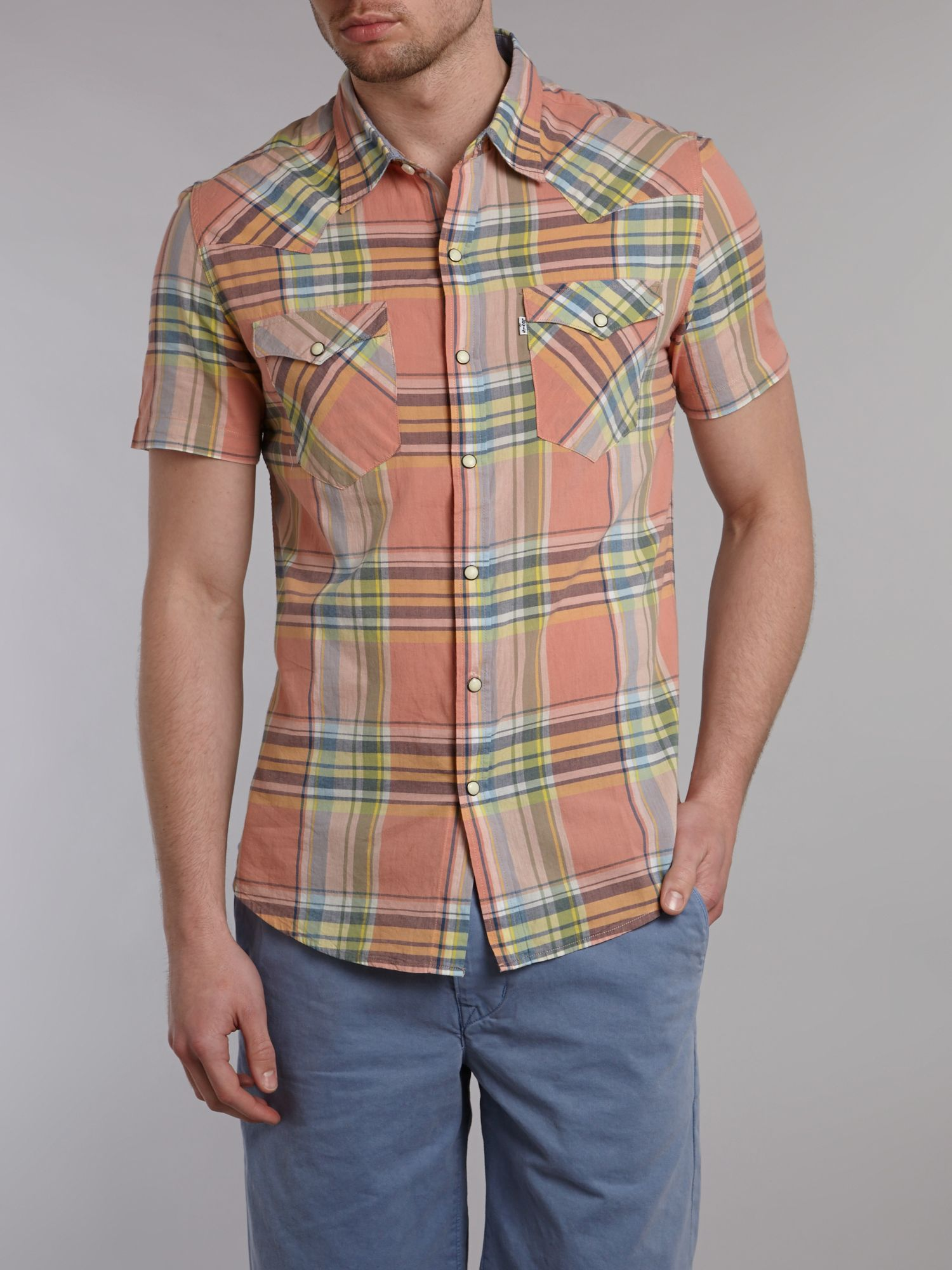 Barstow checked shirt
