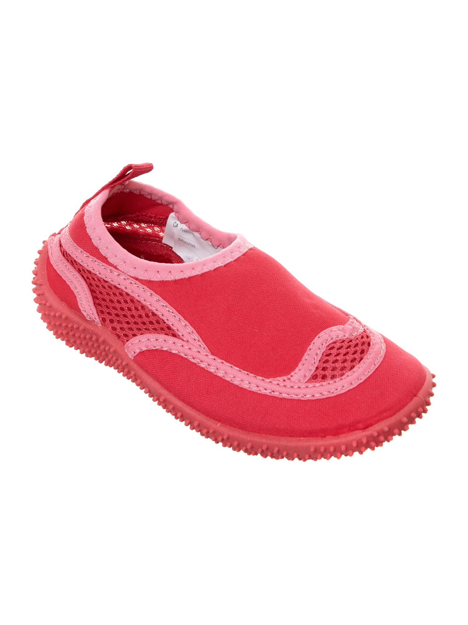 Girl`s beach shoes
