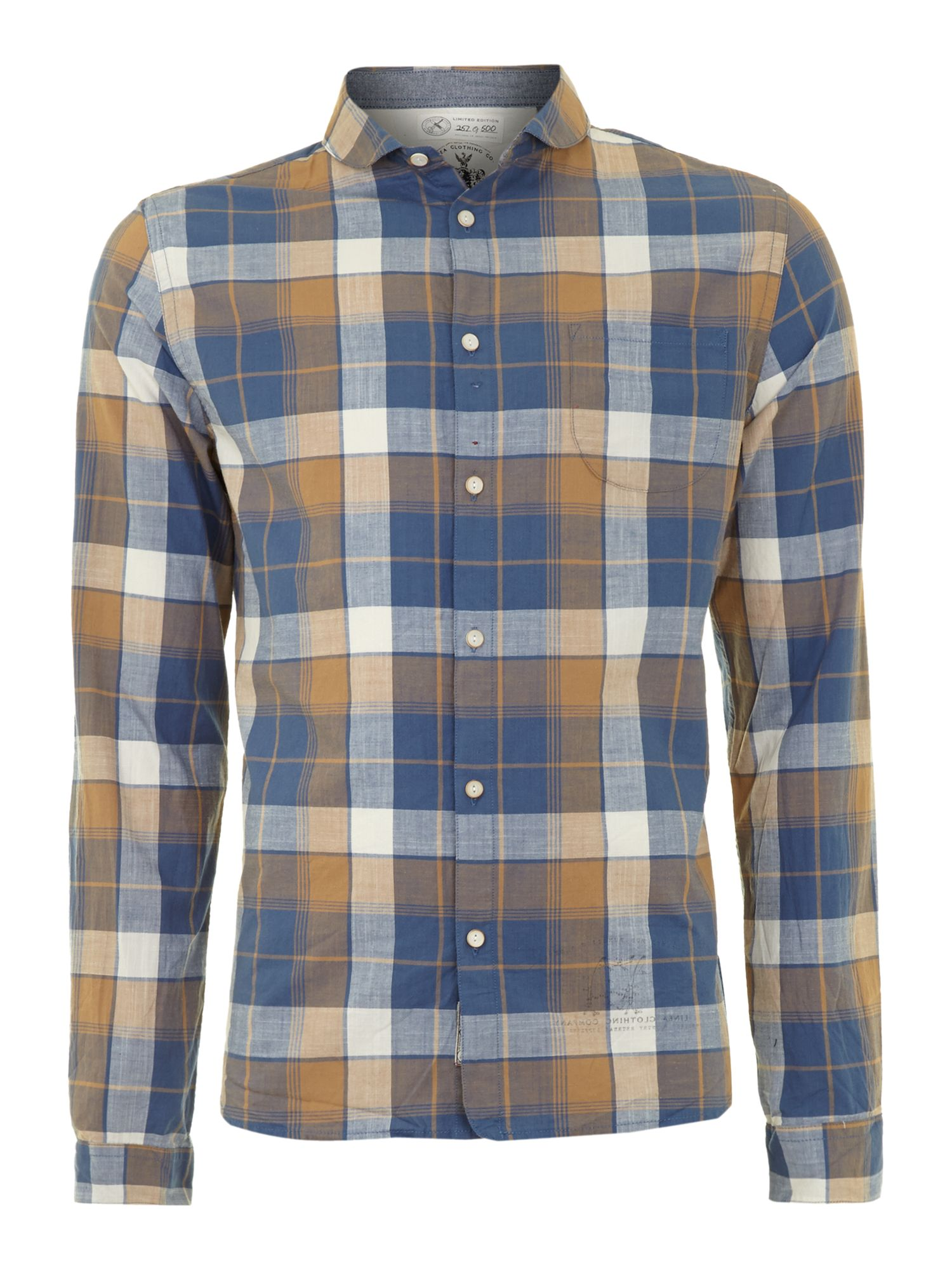 Moffat limited edition natural check shirt