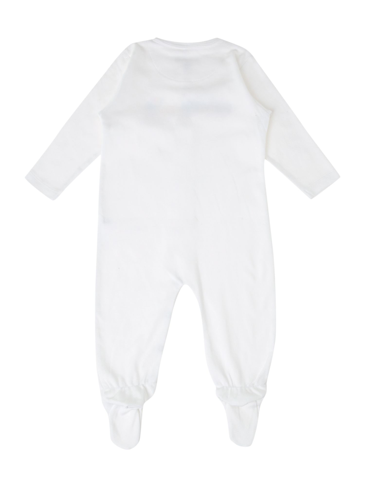 Baby`s toy printed sleepsuit