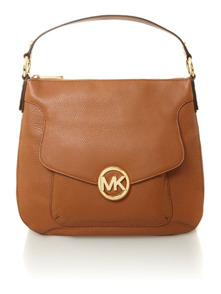 Michael Kors Fulton brown hobo bag
