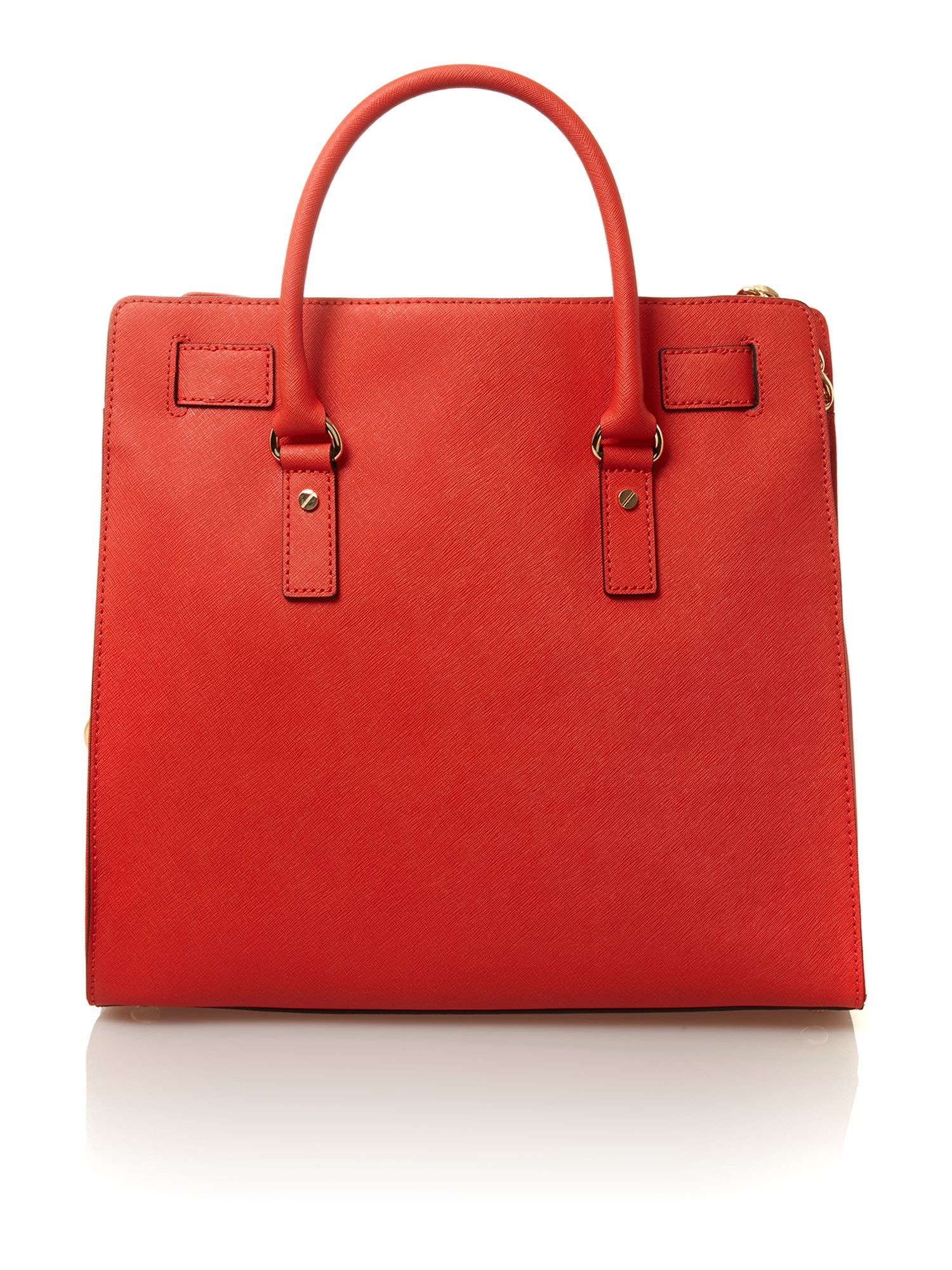 Hamilton red large tote bag
