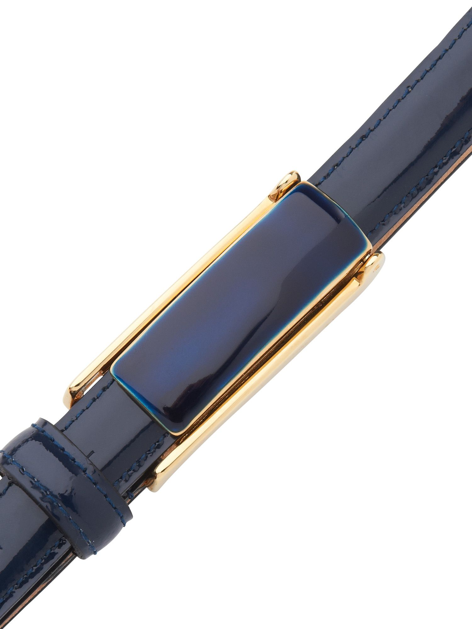 Patent trouser belt