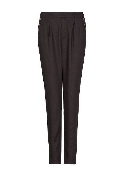 Mango Zipped pockets trousers