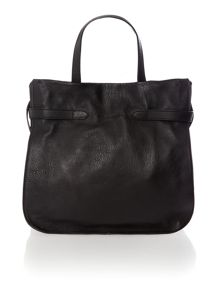 Martha black tote bag