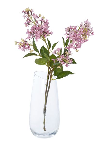 Linea Clear round vase