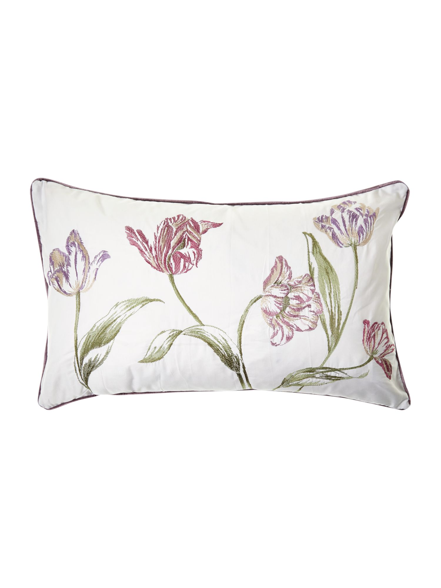 Tulips boudoir cushion