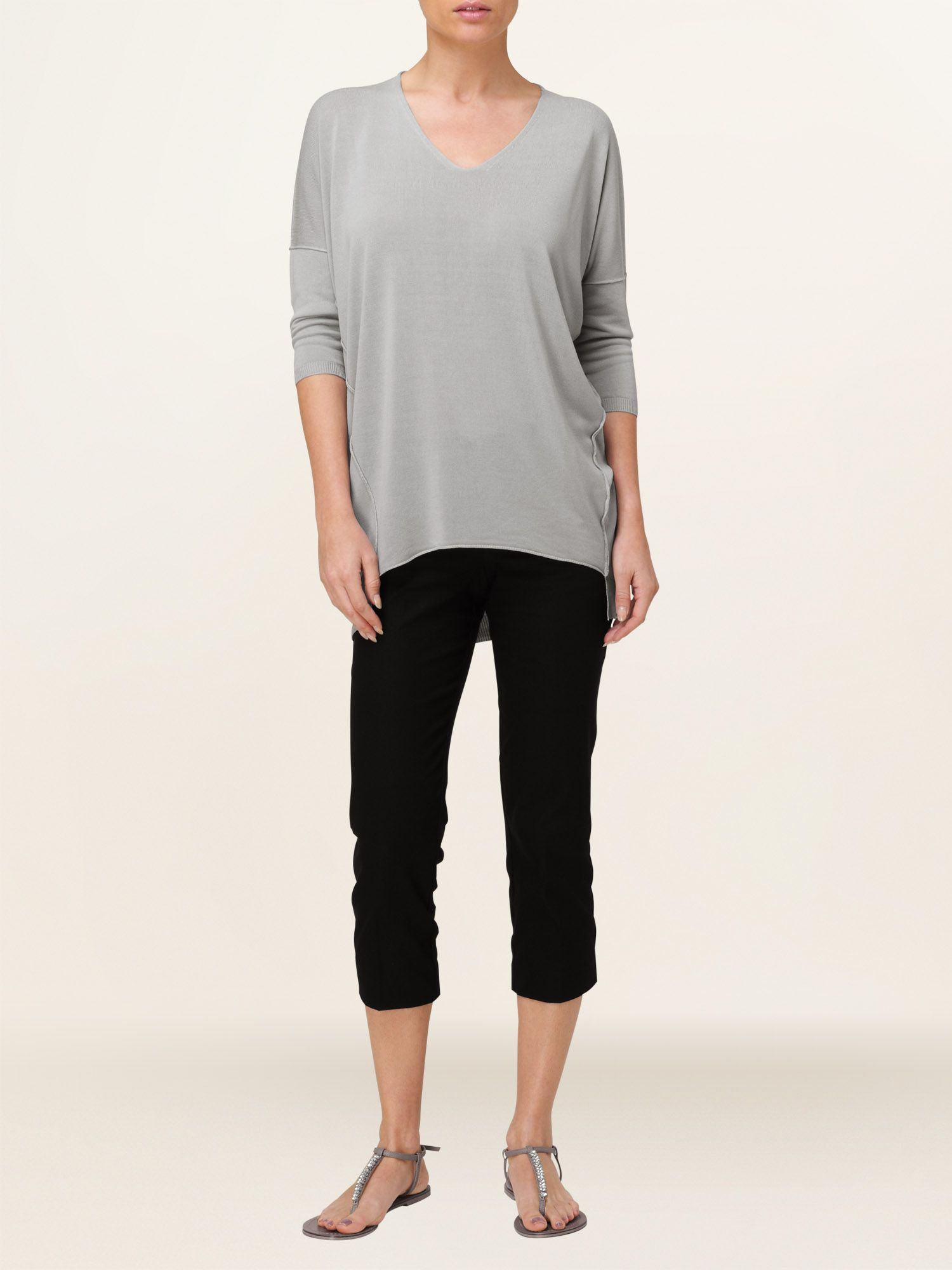 Light weight henrietta jumper