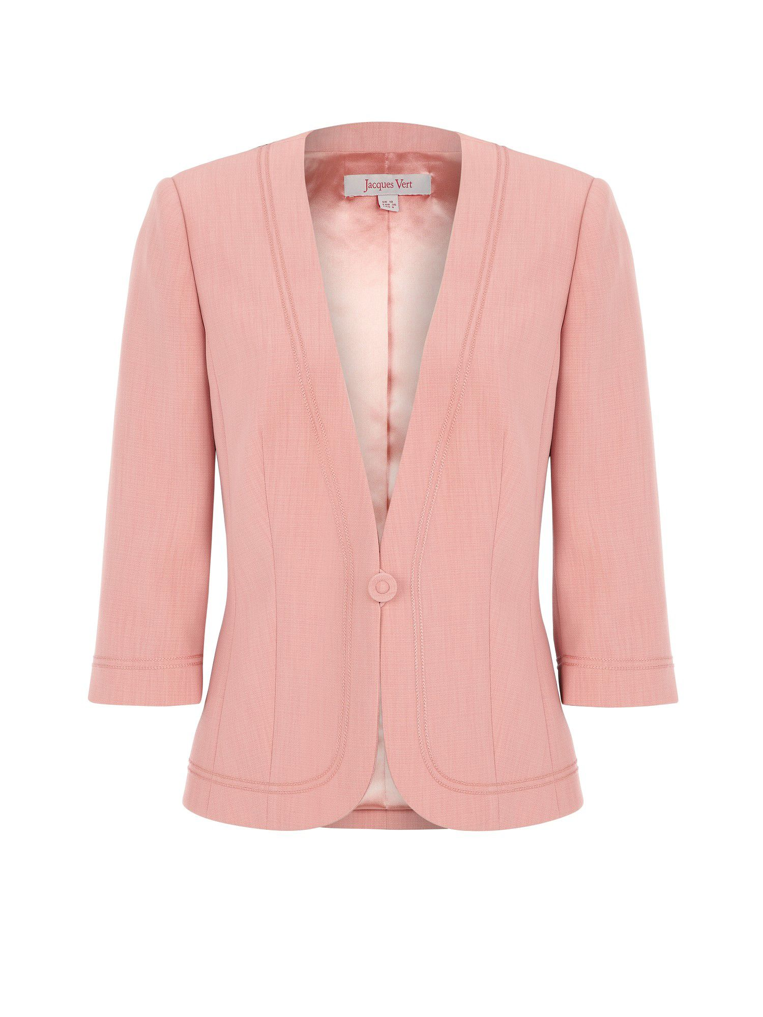 Coral braid detail jacket