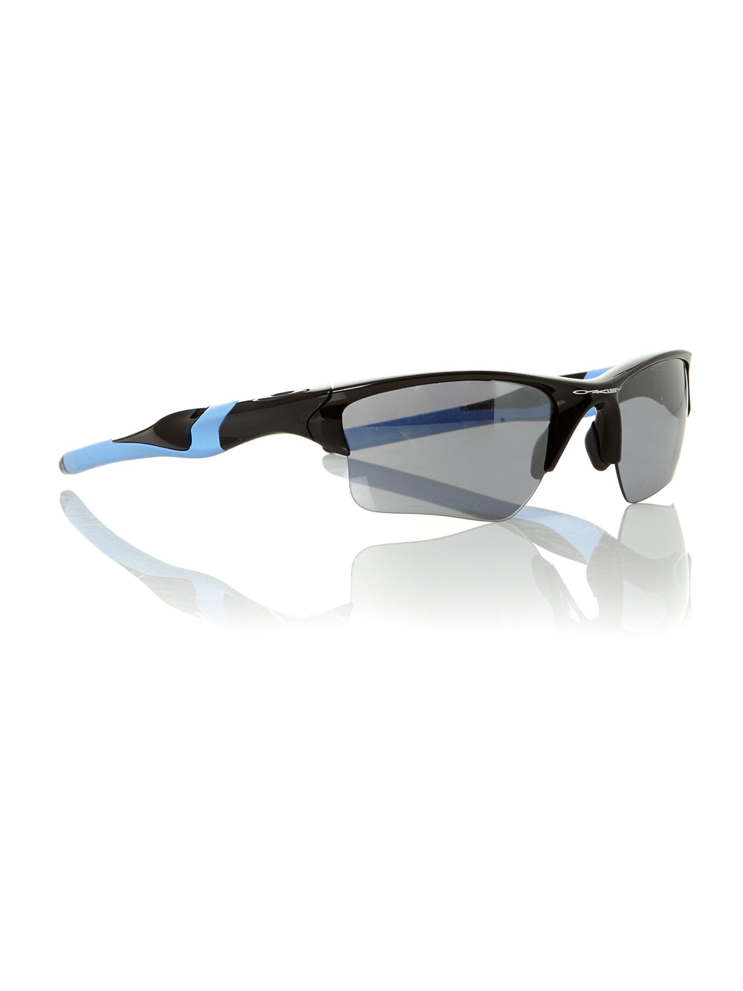 Men`s OO9159 polished black sunglasses