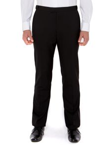 New & Lingwood Benson black evening trousers