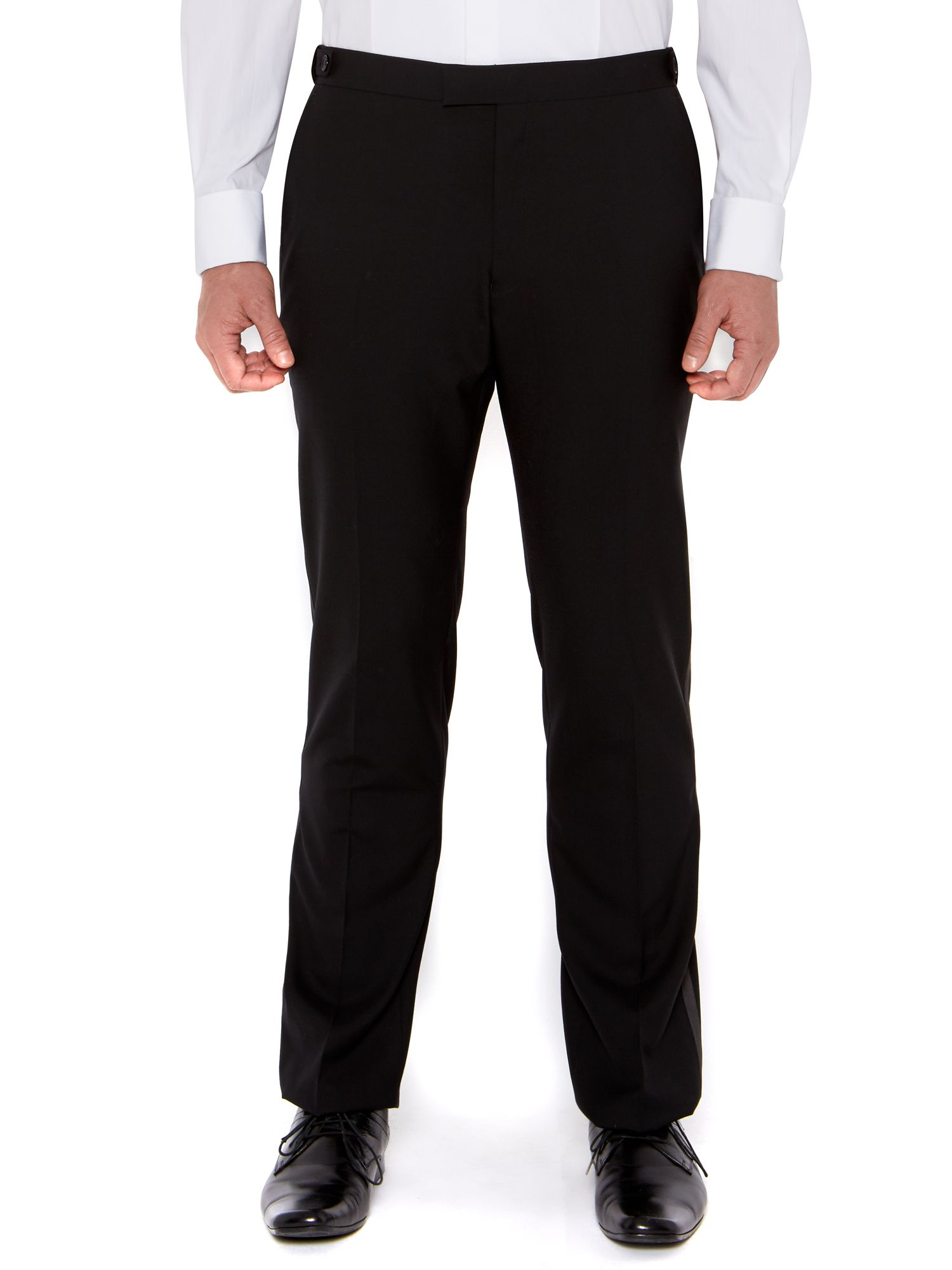 Benson black evening trouser
