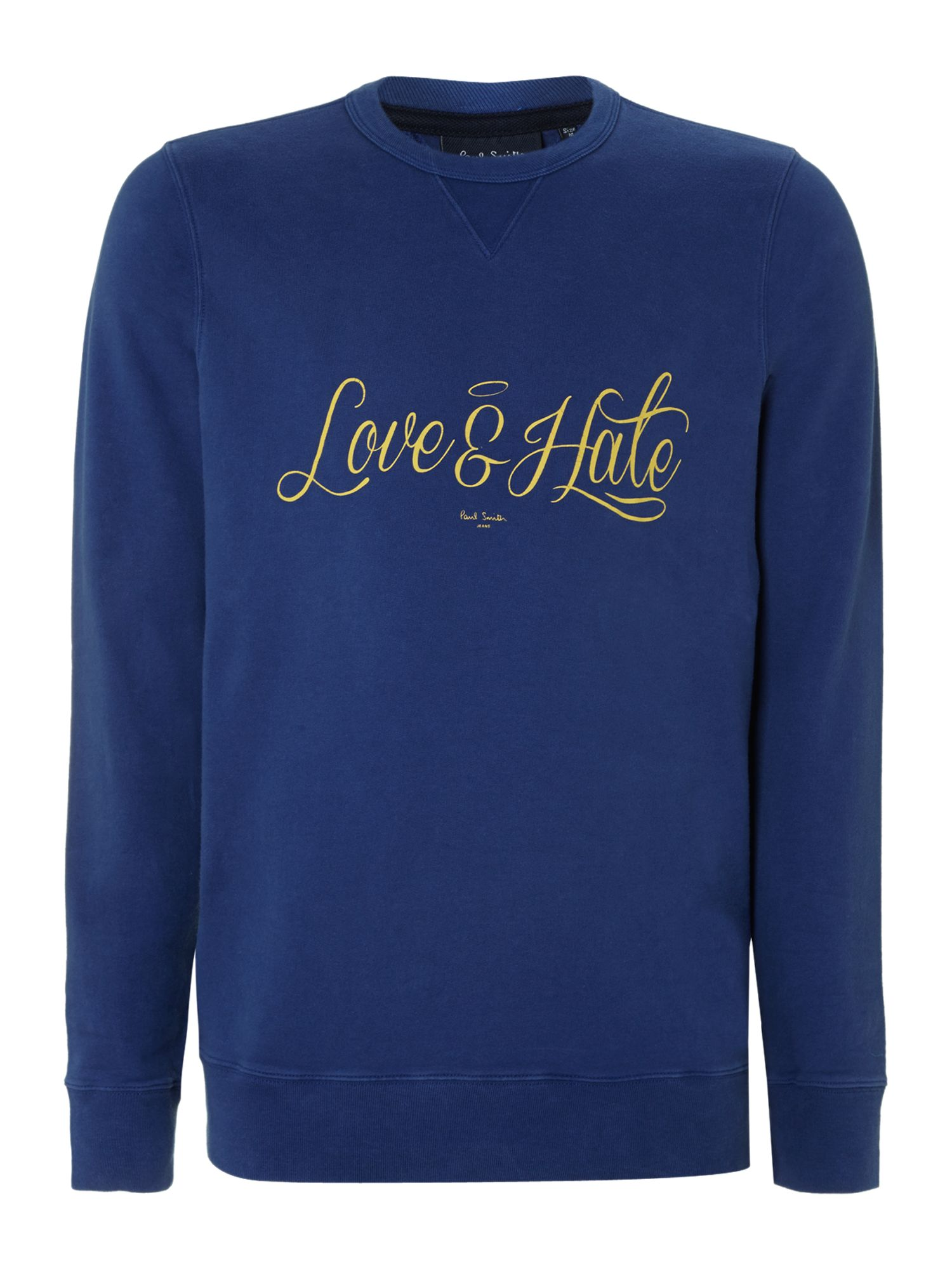 Love and hate sweatshirt