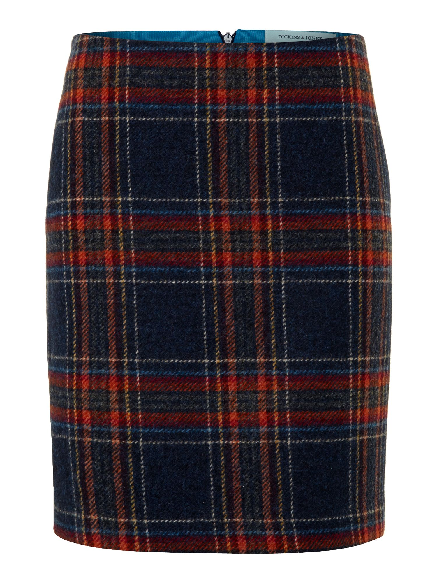 Ladies British Richmond Check Skirt