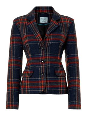 Dickins & Jones Check Blazer