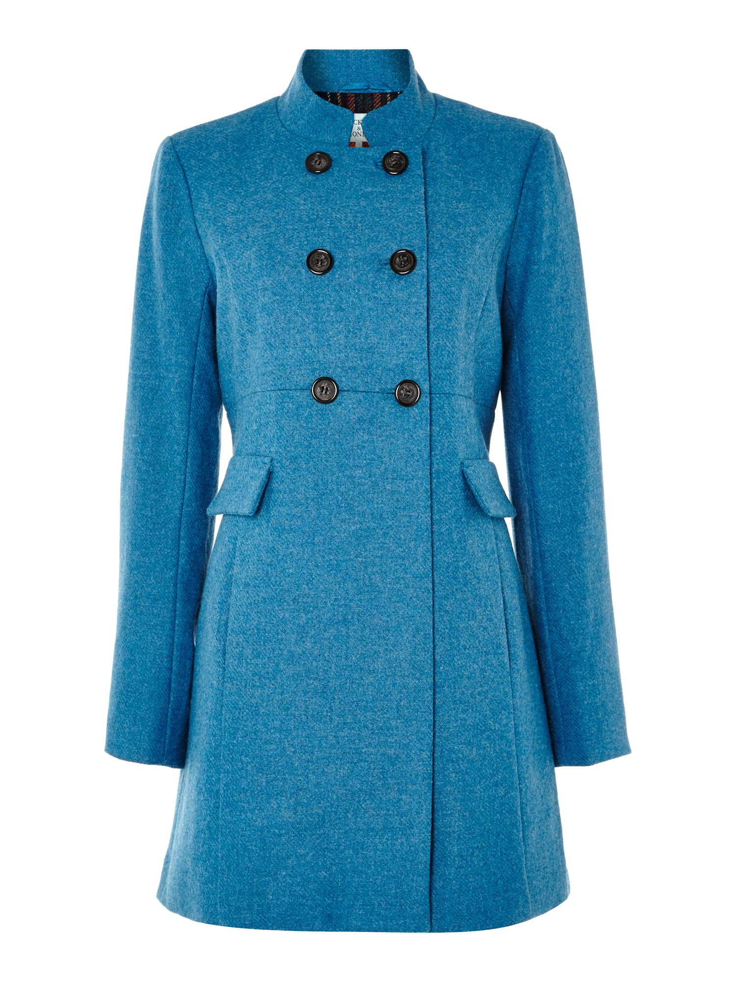 Ladies wool chester coat