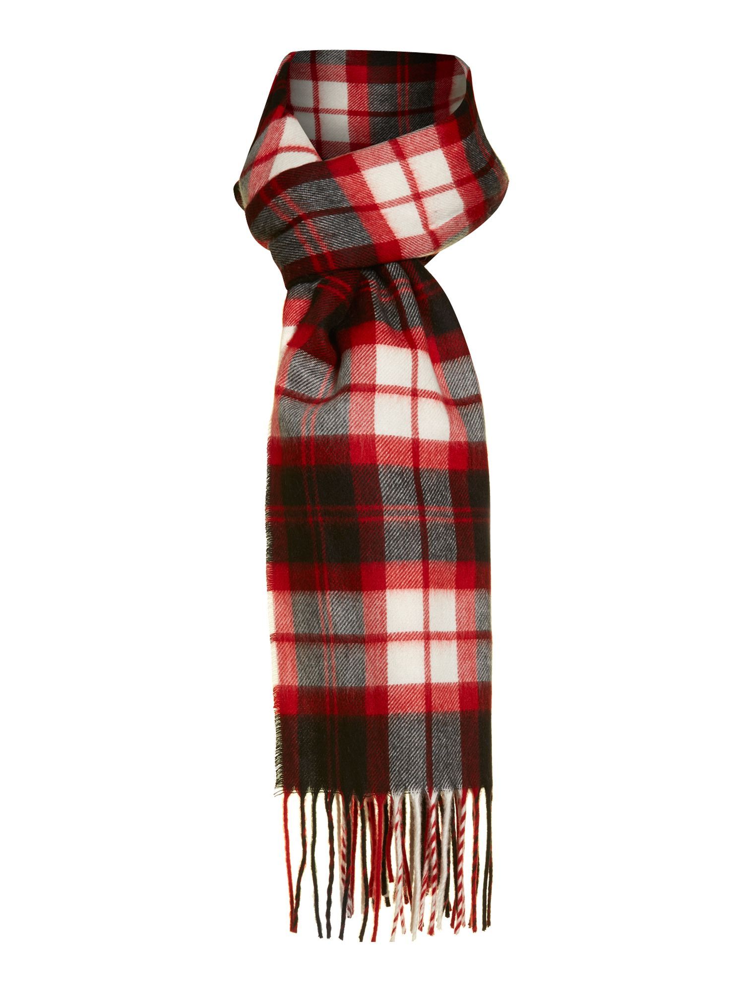 Exploded check Cashmink® scarf