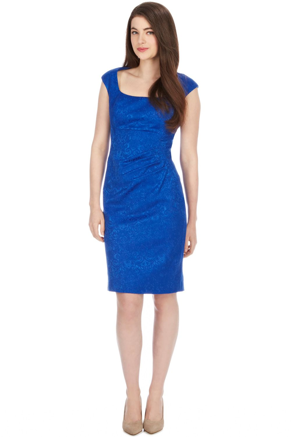 Lesley textured dress