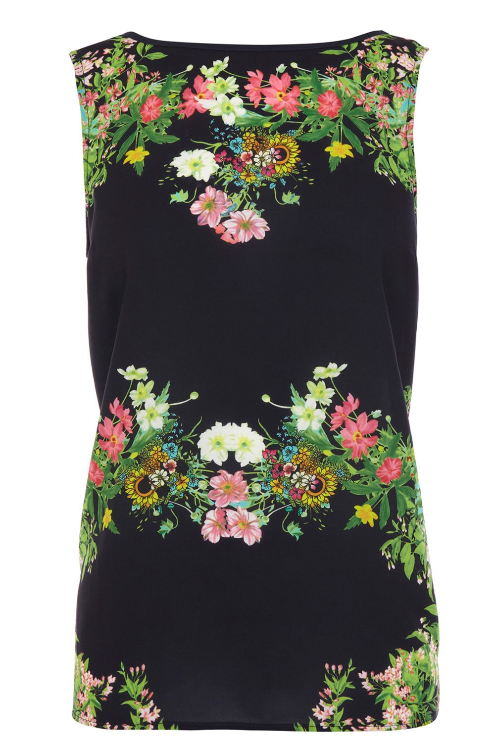 Botanical placement top