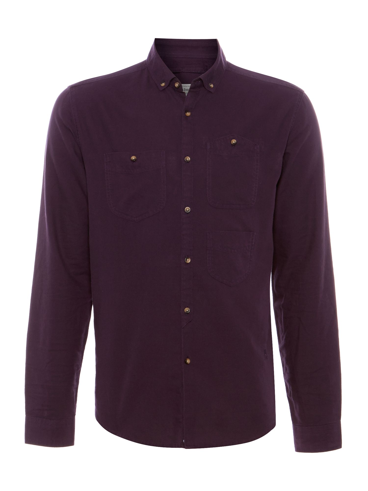 Freeman plain oxford long sleeve shirt