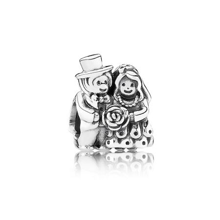Pandora Bride & Groom Charm