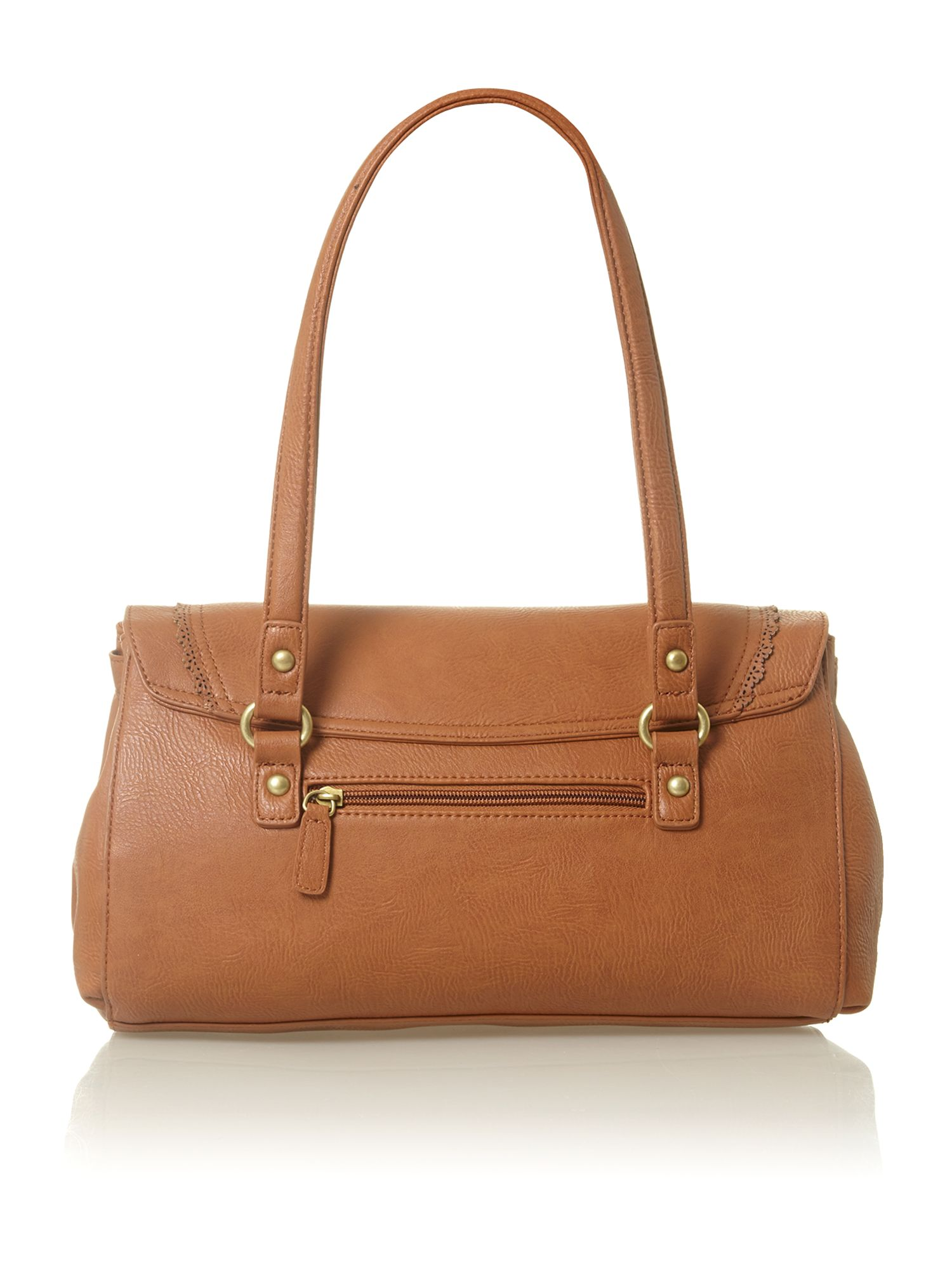 Koper brown tote bag