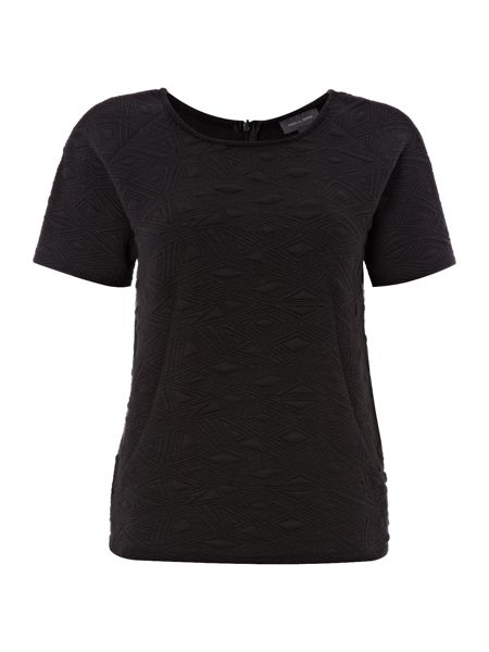 Pied a Terre Textured jersey couture tee