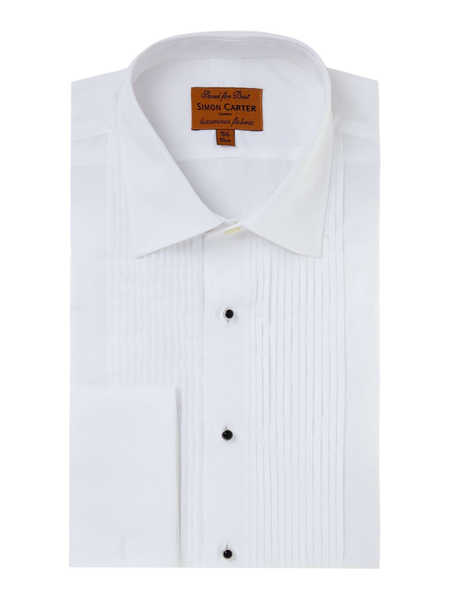 Dress shirt regular fit with double cuff