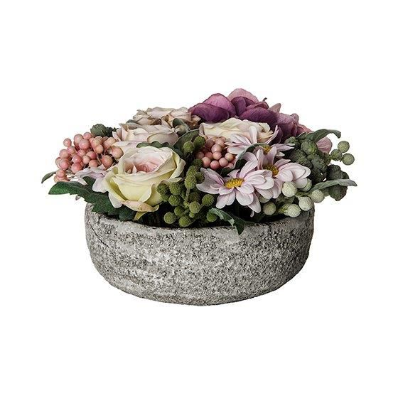 Large mixed flower & berry pot