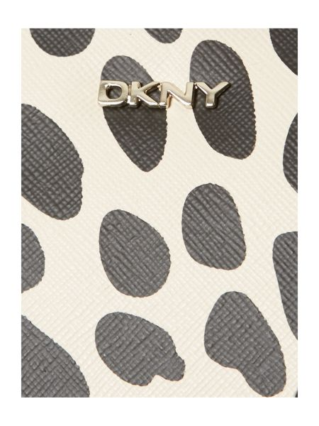 DKNY Animal print multi coloured tote bag