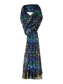 Boucle skinny scarf