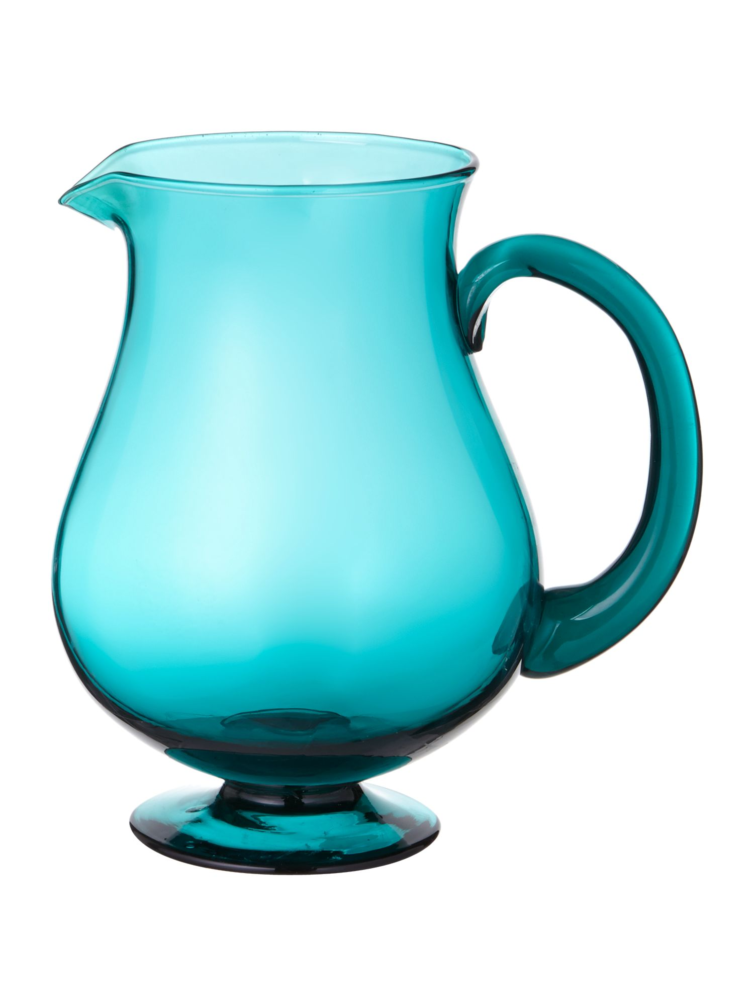 Graphical rhythm jug teal