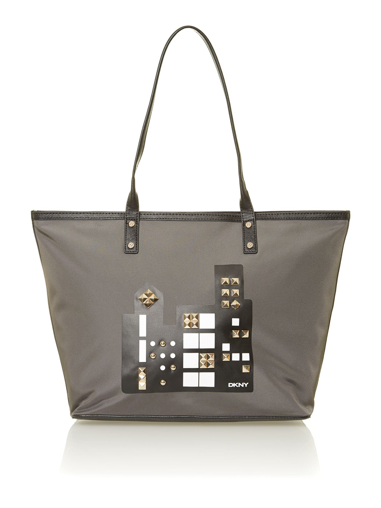 City DKNY multi coloured tote bag