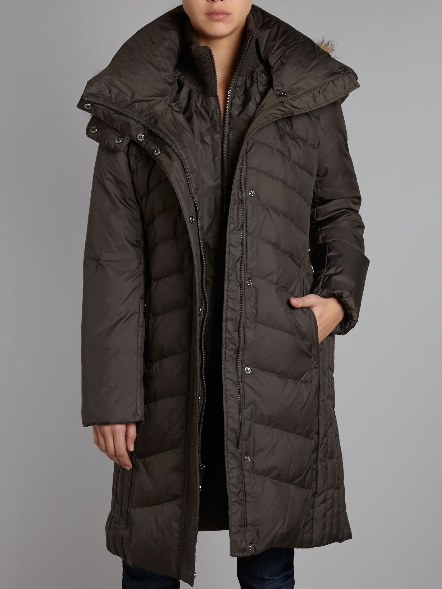 Marvel down filled coat