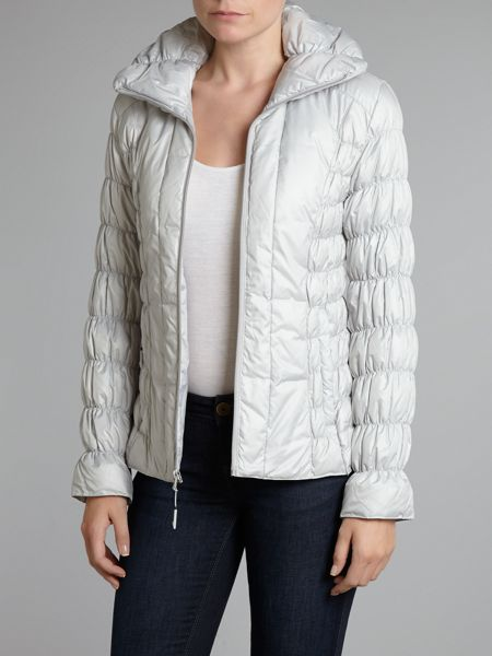 Marc NY Quilted textured coat