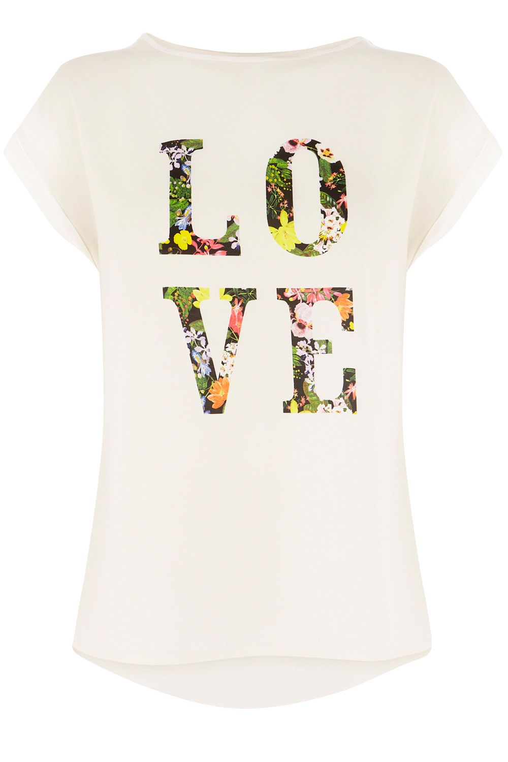 Love placement tee