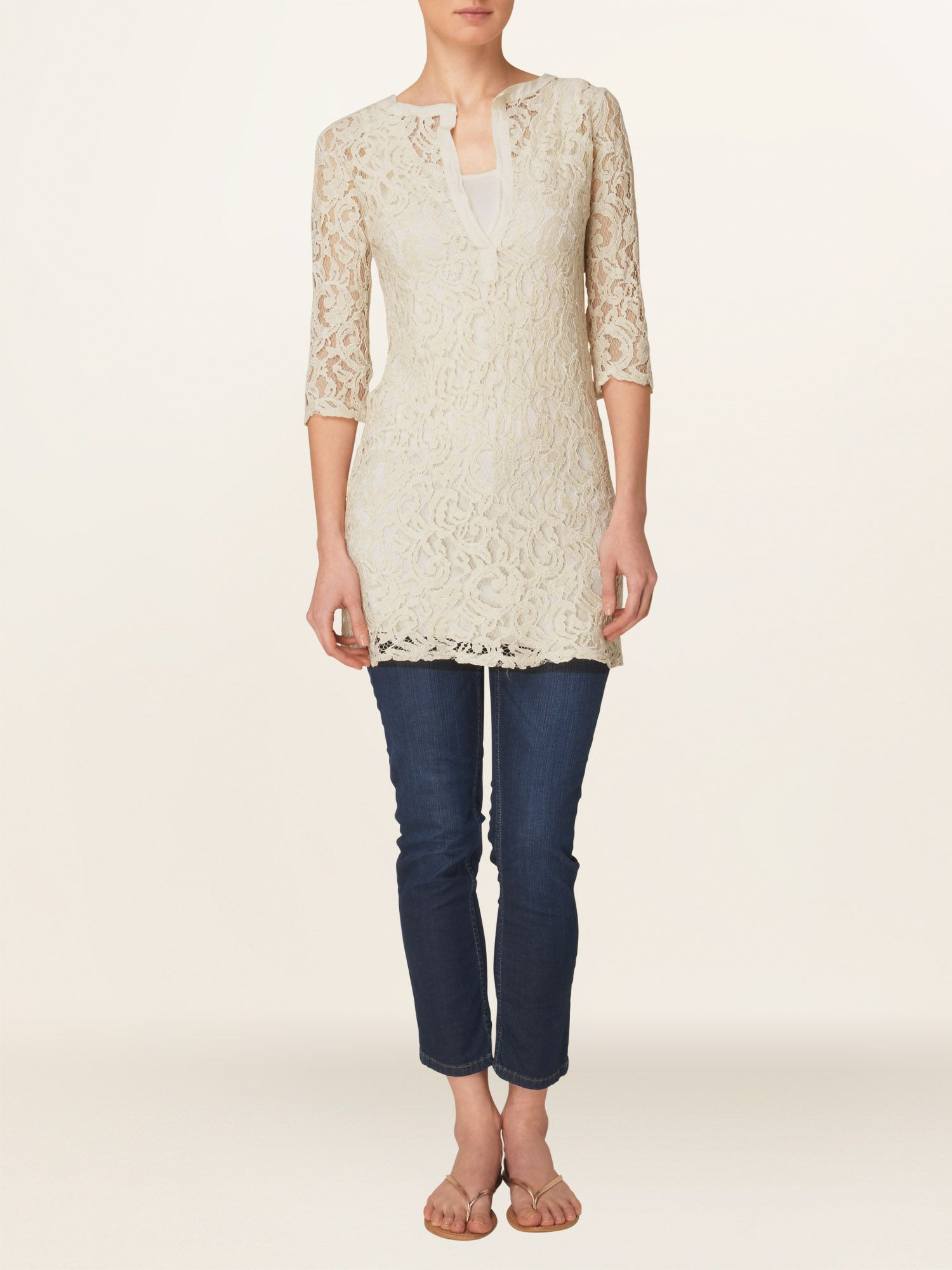 Amelie lace tunic