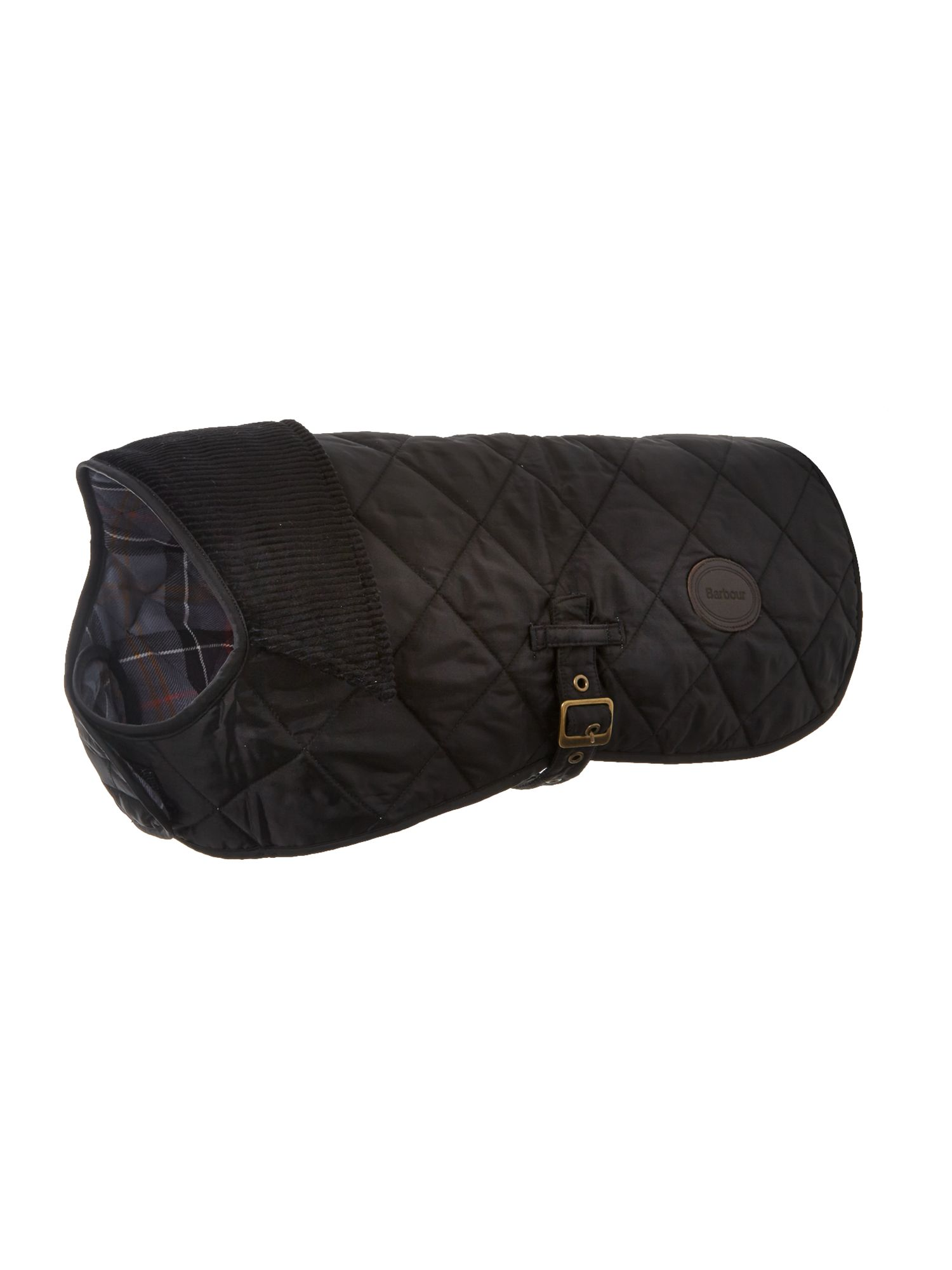 Barbour Quilted dog coat, Black