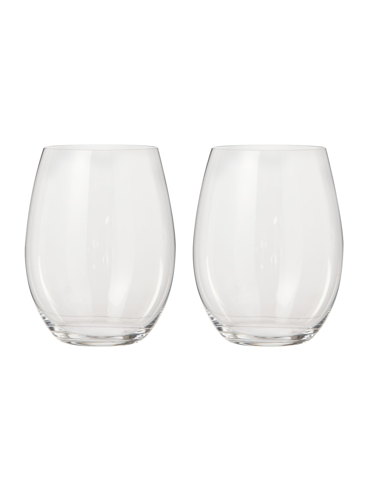 Cabernet merlot tumbler glasses, box of 2