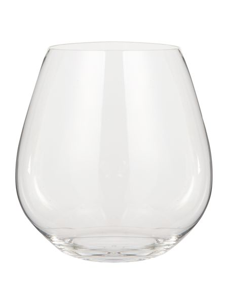 Riedel O stemless pinot noir wine glass set of 2