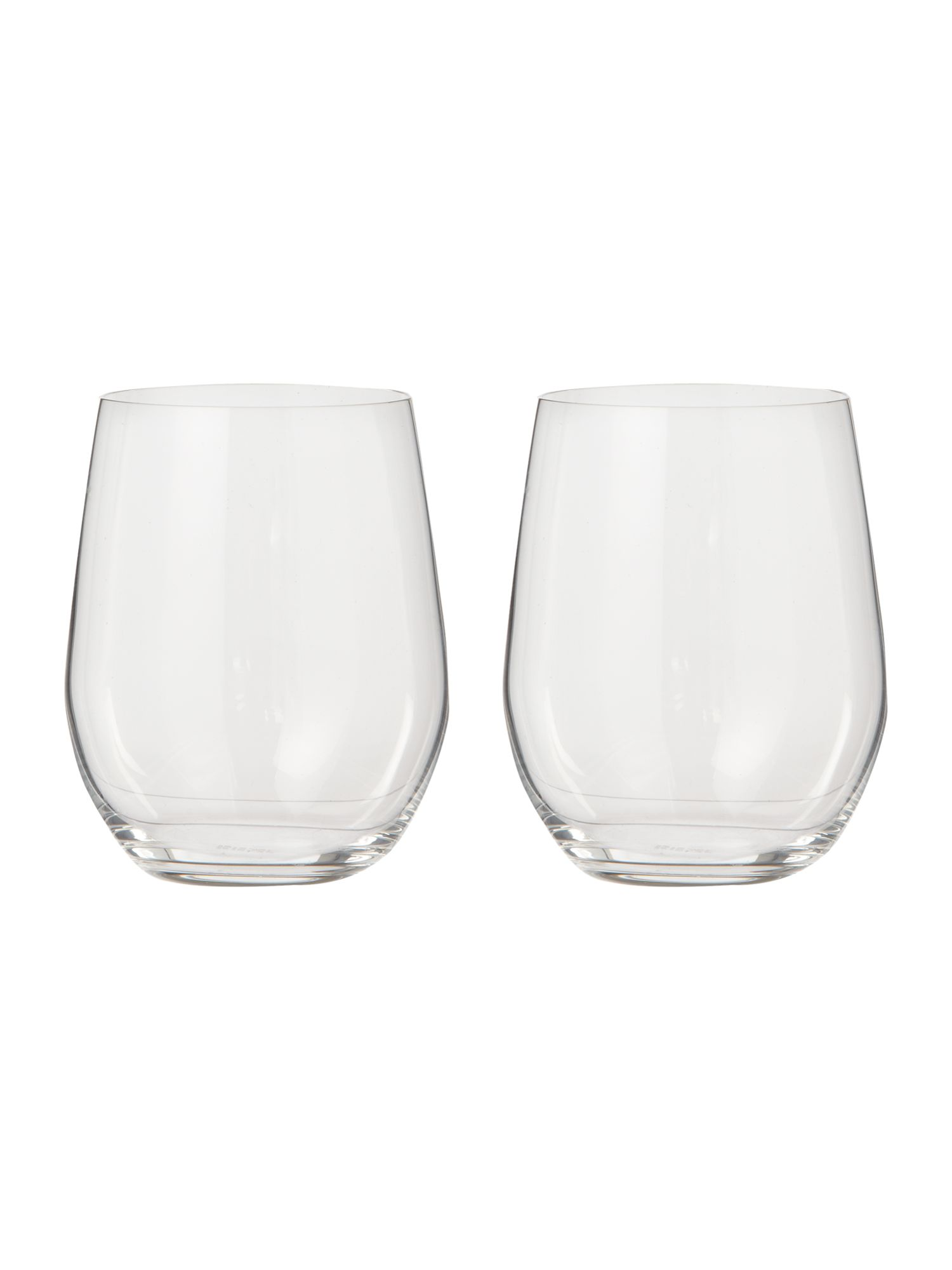 Viognier chardonnay tumbler glasses, box of 2