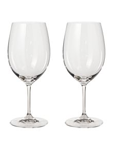 Riedel Vinum cabernet merlot glass set of 2
