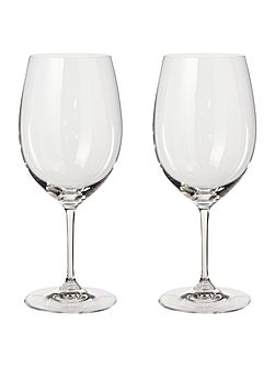 Vinum cabernet merlot glass set of 2