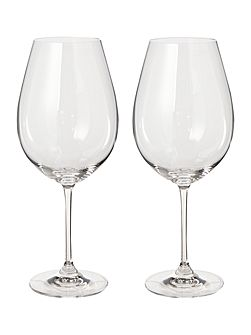 Vinum pinot noir wine glass set of 2