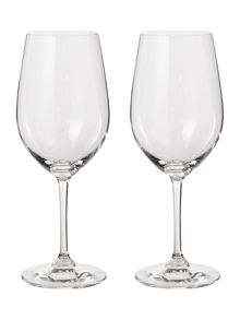 Vinum zinfandel riesling wine glass set of 2