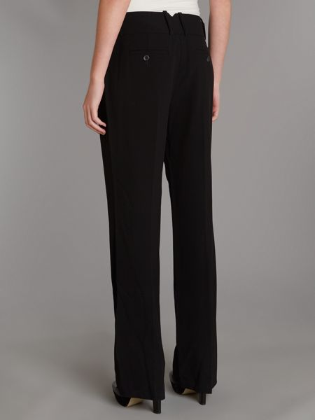 Adrianna Papell Notch Back Pant